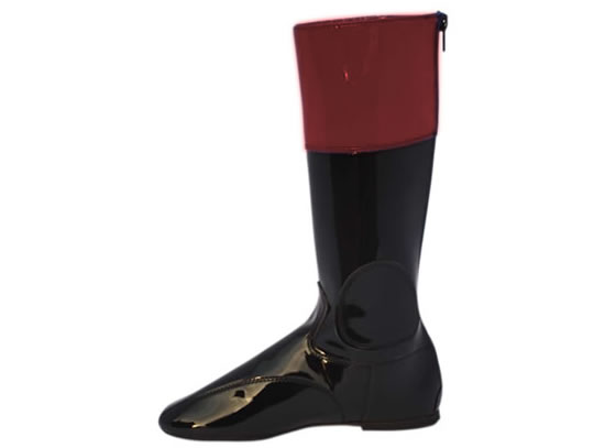 Flat Racing Lightweight Traditional Synthetic Boots