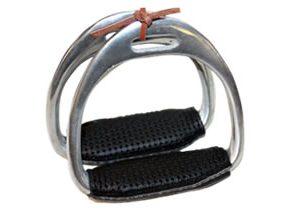Webblite Horse Racing Aluminium Padded Race Irons for sale.