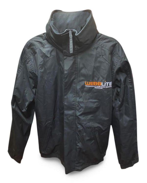 webblite professional saddles and jockey equipment jacket front image